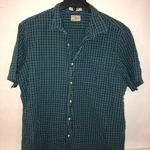 LL BEAN button down shirt Sz XL